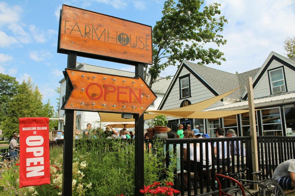 Farmhouse farm to table restaurant