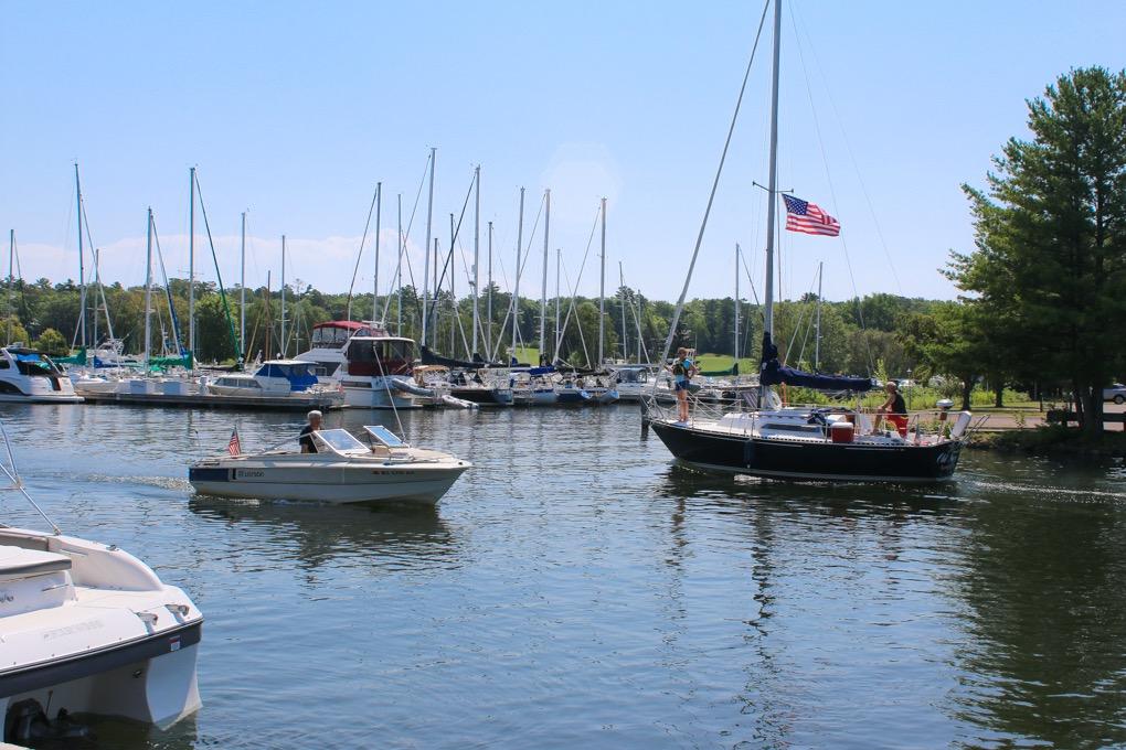 Madeline Island Yacht Club Marina