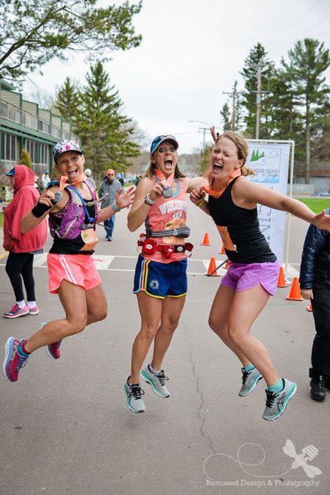 Madeline Island Marathoners